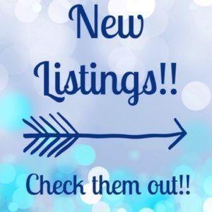New Listings ( Read Description)